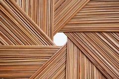 Σχέδιο της καλαθοπλεχτικής φύλλων καρύδων στοκ φωτογραφία