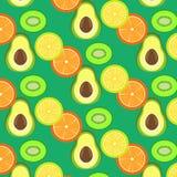 Σχέδιο τμημάτων φρούτων Στοκ φωτογραφίες με δικαίωμα ελεύθερης χρήσης