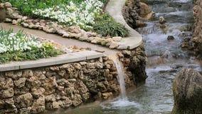 Σχέδιο τοπίων της Νίκαιας στο δενδρολογικό κήπο απόθεμα βίντεο