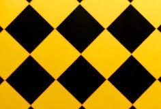Σχέδιο του τοίχου με ένα μαύρο τρίγωνο Στοκ Εικόνες