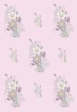 Σχέδιο του anemone διανυσματική απεικόνιση