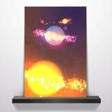 Σχέδιο το /Space/ ιπτάμενων Στοκ Εικόνες