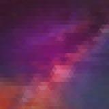 Σχέδιο τριγώνων των γεωμετρικών μορφών ζωηρόχρωμος Στοκ Εικόνα