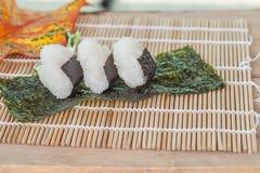 Σχέδιο τροφίμων σφαιρών ρυζιού Στοκ Εικόνα