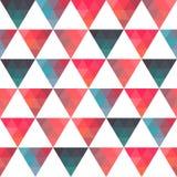Σχέδιο των γεωμετρικών μορφών τρίγωνα Texture με τη ροή της προδιαγραφής Στοκ Εικόνες