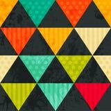 Σχέδιο των γεωμετρικών μορφών. Triangles.Texture με τη ροή της προδιαγραφής Στοκ εικόνα με δικαίωμα ελεύθερης χρήσης