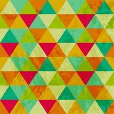 Σχέδιο των γεωμετρικών μορφών. Triangles.Texture με τη ροή της προδιαγραφής Στοκ Εικόνες