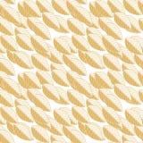 Σχέδιο των κίτρινων φύλλων σε ένα άσπρο υπόβαθρο Στοκ Φωτογραφίες