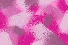 σχέδιο των καλλιτεχνικών κτυπημάτων βουρτσών χρωμάτων Στοκ φωτογραφία με δικαίωμα ελεύθερης χρήσης