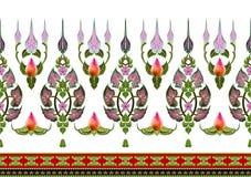 Σχέδιο των λουλουδιών και των φύλλων που απομονώνονται Στοκ εικόνες με δικαίωμα ελεύθερης χρήσης