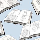 Σχέδιο των παλαιών τυπωμένων βιβλίων Στοκ Εικόνες