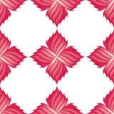 σχέδιο των ρόδινων λουλουδιών Στοκ εικόνα με δικαίωμα ελεύθερης χρήσης