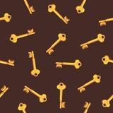 Σχέδιο των χρυσών κλειδιών Στοκ Εικόνα