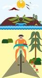 Σχέδιο των mustaches Στοκ Εικόνες