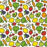 Σχέδιο φρούτων και λαχανικών Στοκ φωτογραφία με δικαίωμα ελεύθερης χρήσης
