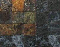 Σχέδιο φύσης κεραμικών κεραμιδιών Στοκ εικόνες με δικαίωμα ελεύθερης χρήσης