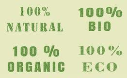 Σχέδιο φύσης οικολογίας Στοκ Εικόνες