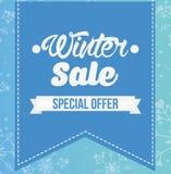 Σχέδιο χειμερινής πώλησης απεικόνιση αποθεμάτων