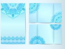 Σχέδιο χειμερινών καρτών Στοκ Εικόνες