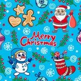 Σχέδιο Χριστουγέννων διασκέδασης Στοκ Εικόνες