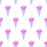 Σχέδιο χρωματίζω-19 παγωτού Στοκ Εικόνα