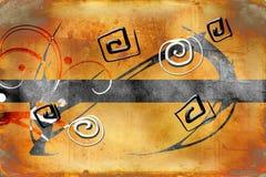 Σχέδιο χρώματος αφαίρεσης Στοκ εικόνα με δικαίωμα ελεύθερης χρήσης