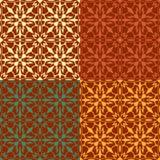 Σχέδιο χρώματος στο αναδρομικό ύφος Στοκ Εικόνες