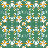Σχέδιο χρώματος των χρωμάτων στο αναδρομικό ύφος Στοκ φωτογραφίες με δικαίωμα ελεύθερης χρήσης