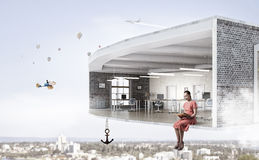 Σχέδιο δωματίων υψηλά Μικτά μέσα Στοκ Φωτογραφία
