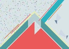 Σχέδιο δύο φακέλλων πρότυπο σελίδων a4 Στοκ Εικόνα