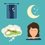 Σχέδιο ύπνου Στοκ φωτογραφία με δικαίωμα ελεύθερης χρήσης