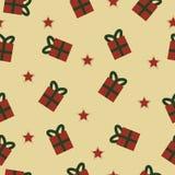 Σχέδιο δώρων και αστεριών στοκ φωτογραφίες