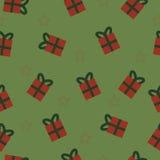 Σχέδιο δώρων και αστεριών στοκ φωτογραφία