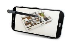 Σχέδιο app Στοκ εικόνες με δικαίωμα ελεύθερης χρήσης