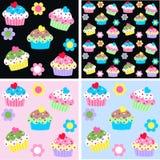 Σχέδιο Cupcake Στοκ Εικόνες