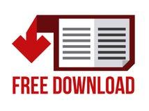 Σχέδιο EBook Στοκ φωτογραφία με δικαίωμα ελεύθερης χρήσης