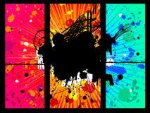 σχέδιο grunge Στοκ Εικόνες