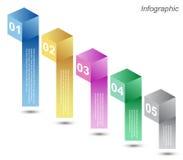 Σχέδιο Infographic για την ταξινόμηση προϊόντων απεικόνιση αποθεμάτων