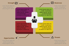 Σχέδιο Infographic Στοκ Φωτογραφίες