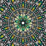 Σχέδιο Mandala Διανυσματική απεικόνιση