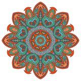 Σχέδιο Mandala doodle Στοκ Φωτογραφίες