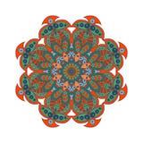 Σχέδιο Mandala doodle Στοκ Εικόνα