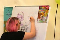 Σχέδιο Manga Στοκ Φωτογραφία