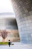 Σχέδιο Plaza Σεούλ, Κορέα, DDP Dongdaemun Στοκ εικόνα με δικαίωμα ελεύθερης χρήσης