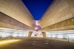 Σχέδιο Plaza Dongdaemun στη Σεούλ, Νότια Κορέα Στοκ εικόνα με δικαίωμα ελεύθερης χρήσης
