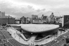 Σχέδιο Plaza Dongdaemun Στοκ Φωτογραφία