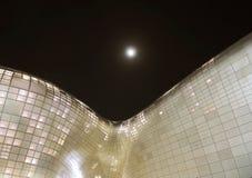 Σχέδιο Plaza Dongdaemun (DDP) Στοκ Φωτογραφίες