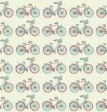 Σχέδιο Seampless ποδηλάτων Στοκ Εικόνα