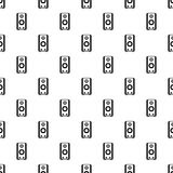 Σχέδιο Subwoofer, απλό ύφος Στοκ εικόνα με δικαίωμα ελεύθερης χρήσης