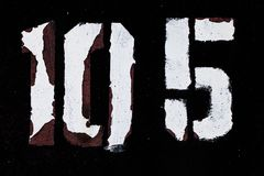 Σχήμα 10 χρώμα 5 grunge στο μαύρο λευκό μετάλλων Στοκ φωτογραφία με δικαίωμα ελεύθερης χρήσης